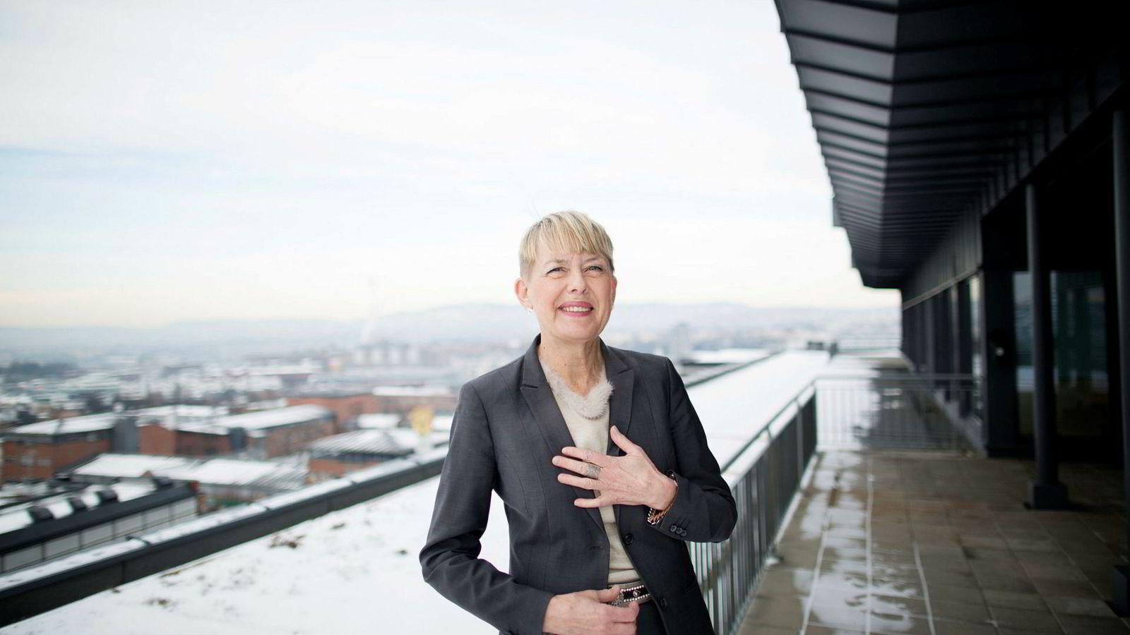Astrid Søgnen, direktør i Utdanningsetaten i Oslo går av etter langvarig konflikt med den politiske ledelsen. Foto: Øyvind Elvsborg ---