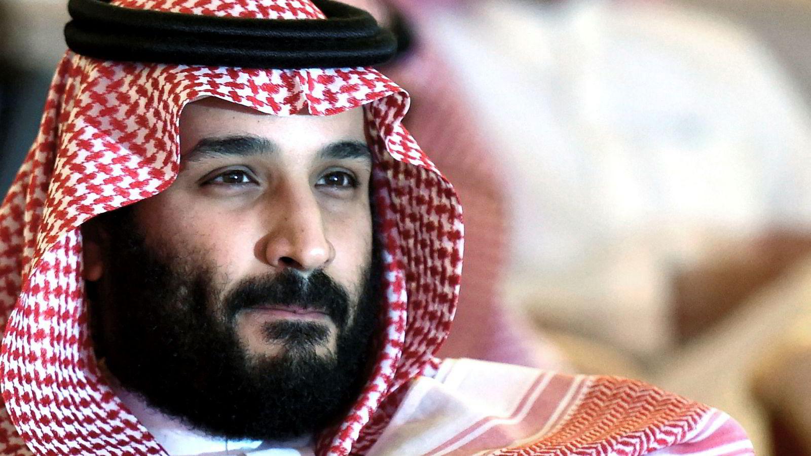 Saudi-Arabias kronprins Mohammad bin Salman møter økende internasjonalt press etter forsvinningen til journalisten Jamal Khashoggi,