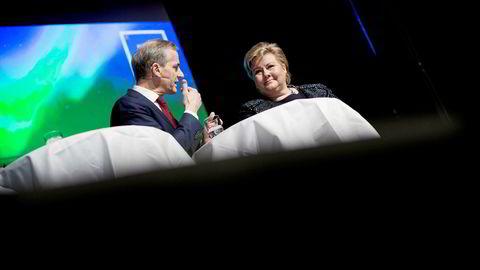 Arbeiderparti-leder Jonas Gahr Støre kaller sysselsetting Norges største utfordring. Høyres egne målinger viser at sysselsetting og ledighet har vært fallende blant sakene som avgjør valg av parti.