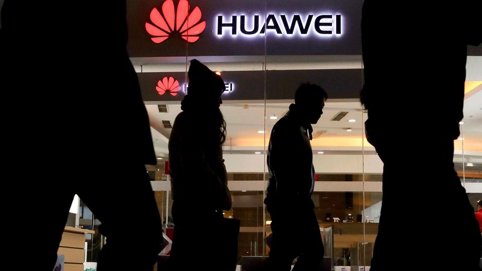 Kinesiske Huawei er et av selskapene som vekker bekymring i EU.