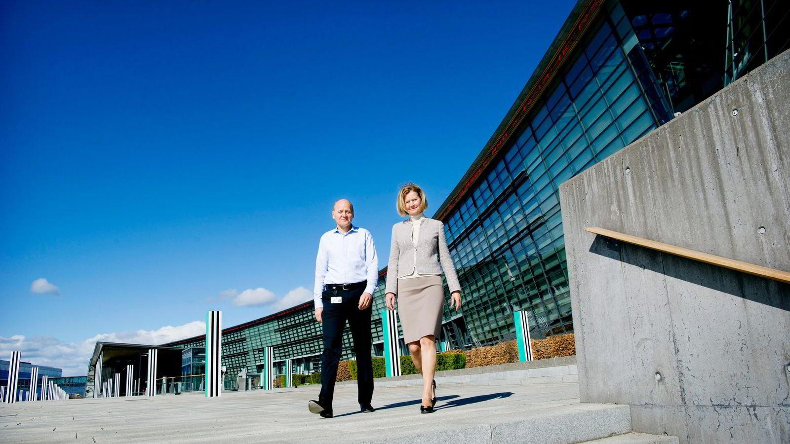 Styreleder Gunn Wærsted og konsernsjef Sigve Brekke forsøker å rydde opp i Telenor-systemet i kjølvannet av Vimpelcom-skandalen