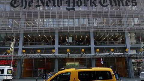 The New York Times øker overskuddet.