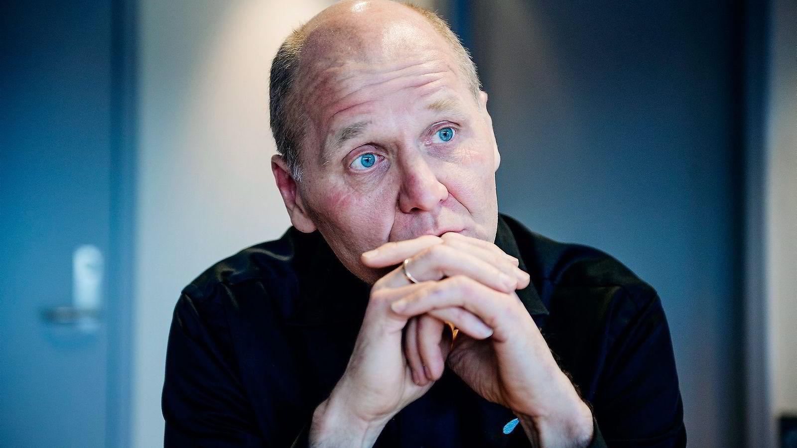 Telenor og konsernsjef Sigve Brekke har hatt en terroristdømt svenske ansatt ved kundesenteret i Sverige. Foto: Hampus Lundgren