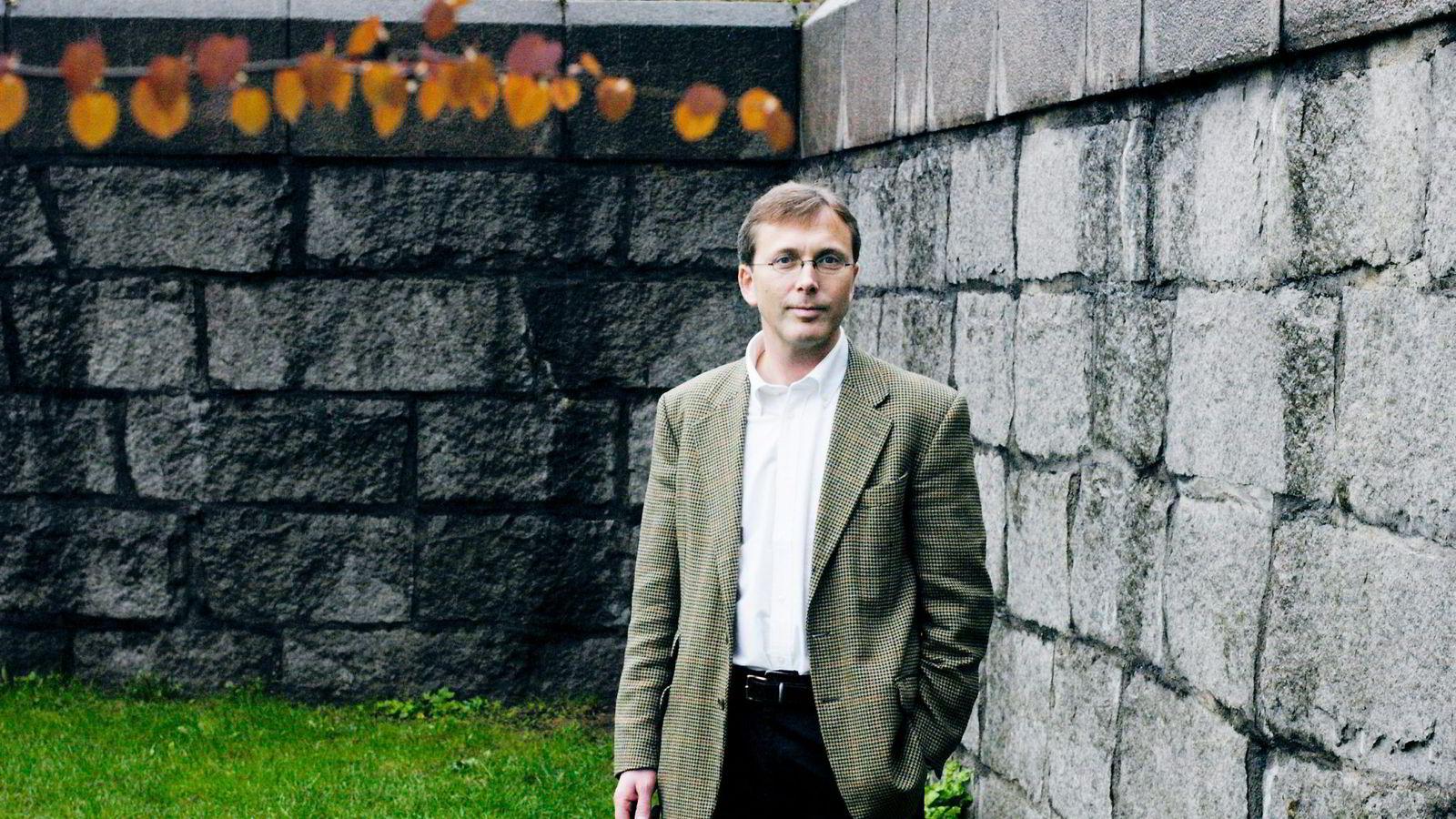 Fagsjef for personlig økonomi Dag Jørgen Hveem ved BI. Foto: