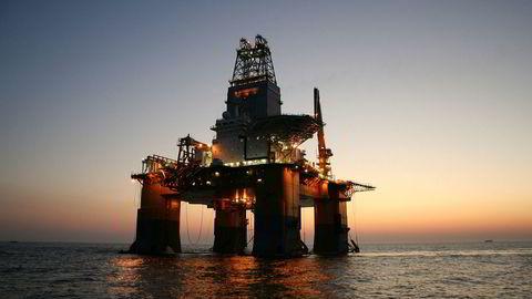 Bilde fra 2009: Odfjell Drillings oljerigg Deepsea Atlantic ble bygget i Sør-Korea i 2009 og seilte 4000 kilometer til Bergen for egen maskin. I sommer fikk Odfjell Drilling et intensjonsbrev fra Equinor for Deepsea Atlantic knyttet til arbeid på fase 2 av Johan Sverdrup-feltet.