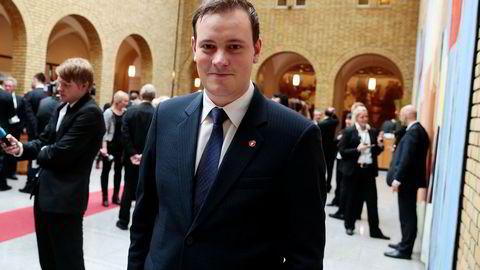 Sivert Bjørnstad (Frp) var den yngste stortingsrepresentanten i forrige periode. Nå blir han finanspolitisk talsperson for partiet.