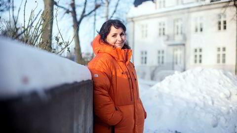 Camilla Sylling Clausen skal tilbringe juleferien i snøfylte bakker. Foto: Ida von Hanno Bast