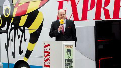 Thomas Mattson har jobbet i Expressen siden 1991 for første gang.