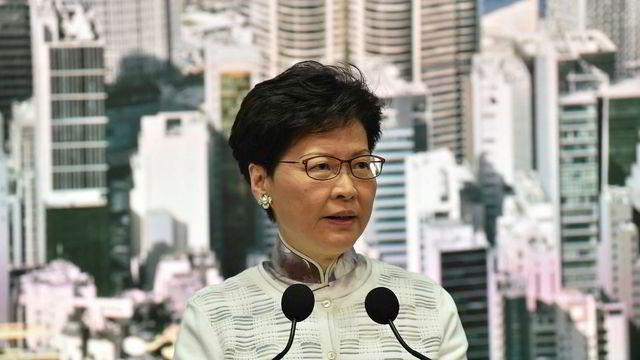 Hongkongs leder varsler kunngjøring - kan skrote kontroversielt lovforslag