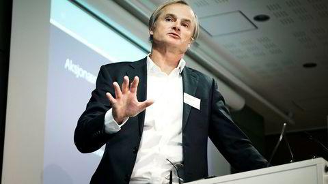 Investor og milliardær Øystein Stray Spetalen har plassert mesteparten av pengene sine i banken.