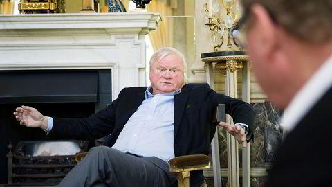 John Fredriksen slår seg sammen med Exmar og blir minoritetsaksjonær i det flytende gasstankrederiet Flex LNG, som nå blir Exmar LNG Ltd. Foto: Elin Høyland
