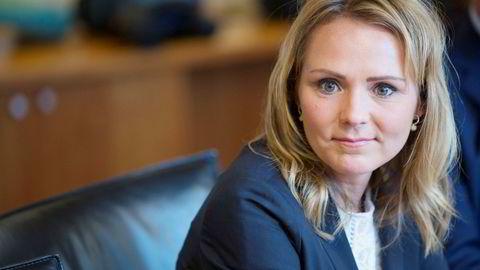 Kulturminister Linda Cathrine Hofstad Helleland. Foto:
