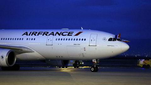 Et fly fra Air France på Imam Khomeini International Airport i Teheran. Det blir det slutt på etter 18. september.