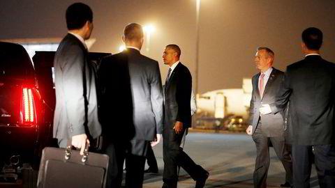 Obama vil som første amerikanske president besøke den japanske byen Hiroshima. Foto: Carlos Barria/Reuters/NTB Scanpix