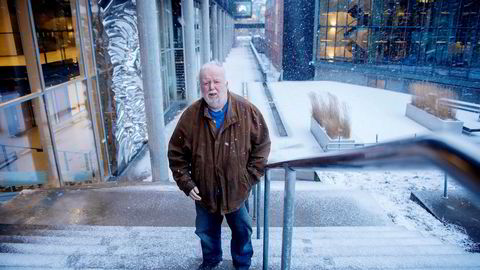Universitetslektor Gisle Hannemyr ved Institutt for informatikk ved Universitetet i Oslo har hverken tro på kryptovalutaer eller blokkjedeteknologi. Foto: Mikaela Berg
