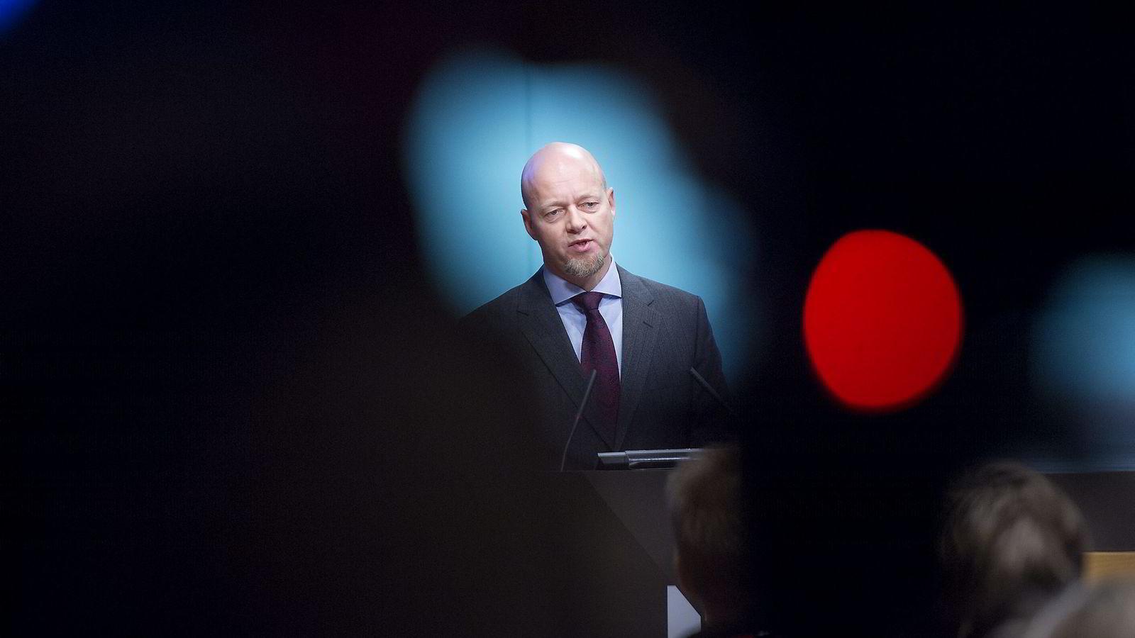 Oljefondets sjef Yngve Slyngstad får kullkritikk. FOTO: Elin Høyland