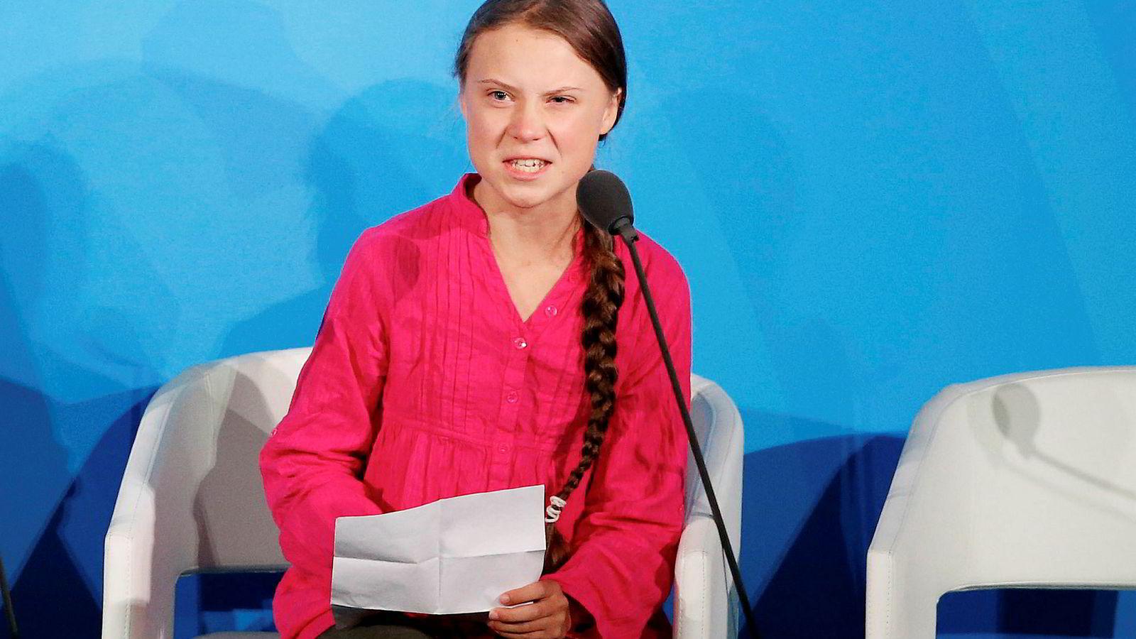 Talen til Greta Thunberg i FN er blitt massivt diskutert i sosiale medier og medier den siste uken.