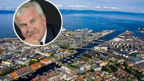 – Synd at det bare varer i ett år, sier Tore Wigtil om det å være på inntektstoppen i Trondheim.