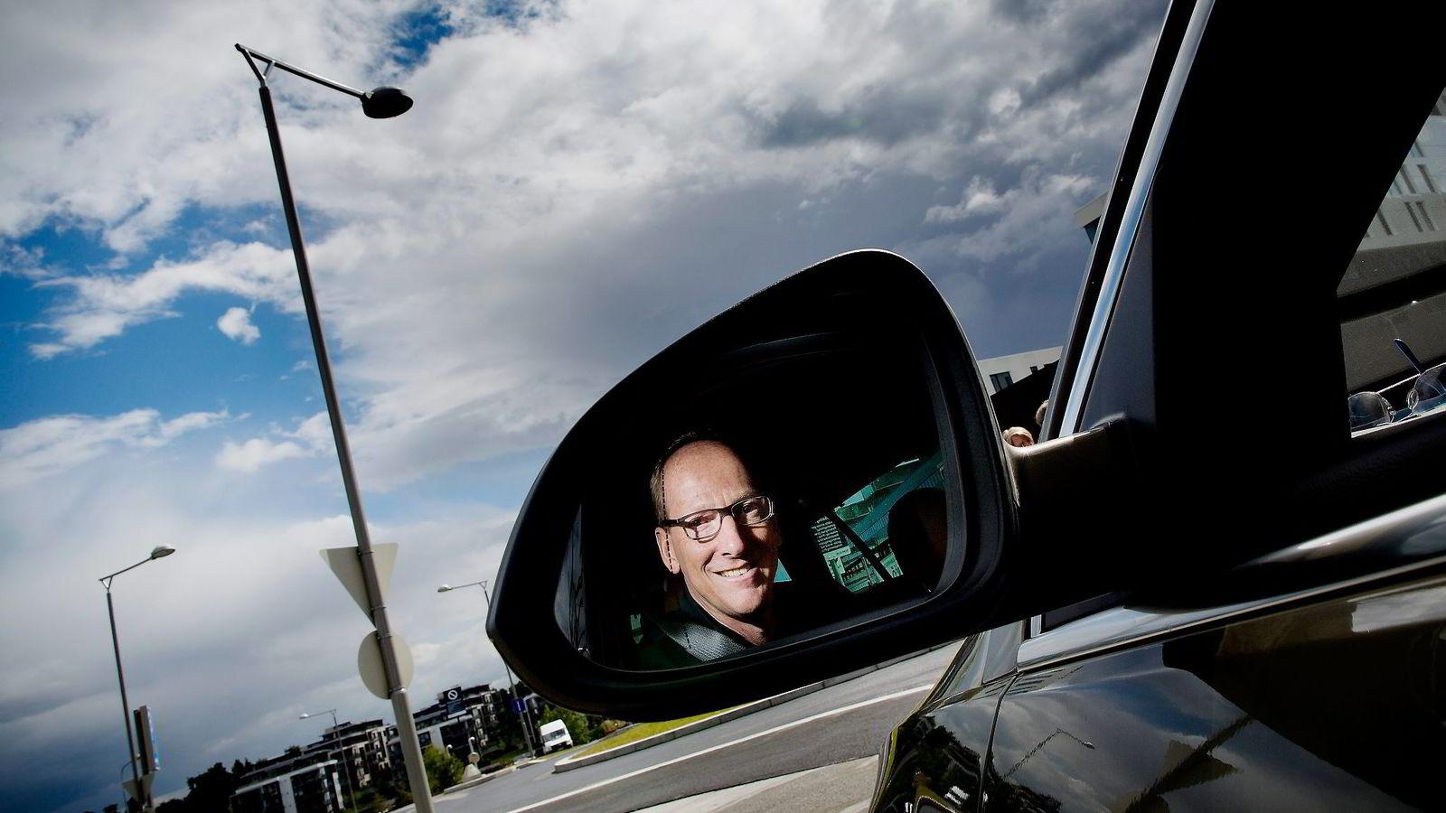 PÅ NORGESBESØK. – Jeg tror vi kan bli lønnsomme innen 2015, sier Opel-sjef Karl-Thomas Neumann. Foto: Tomm W. Christiansen