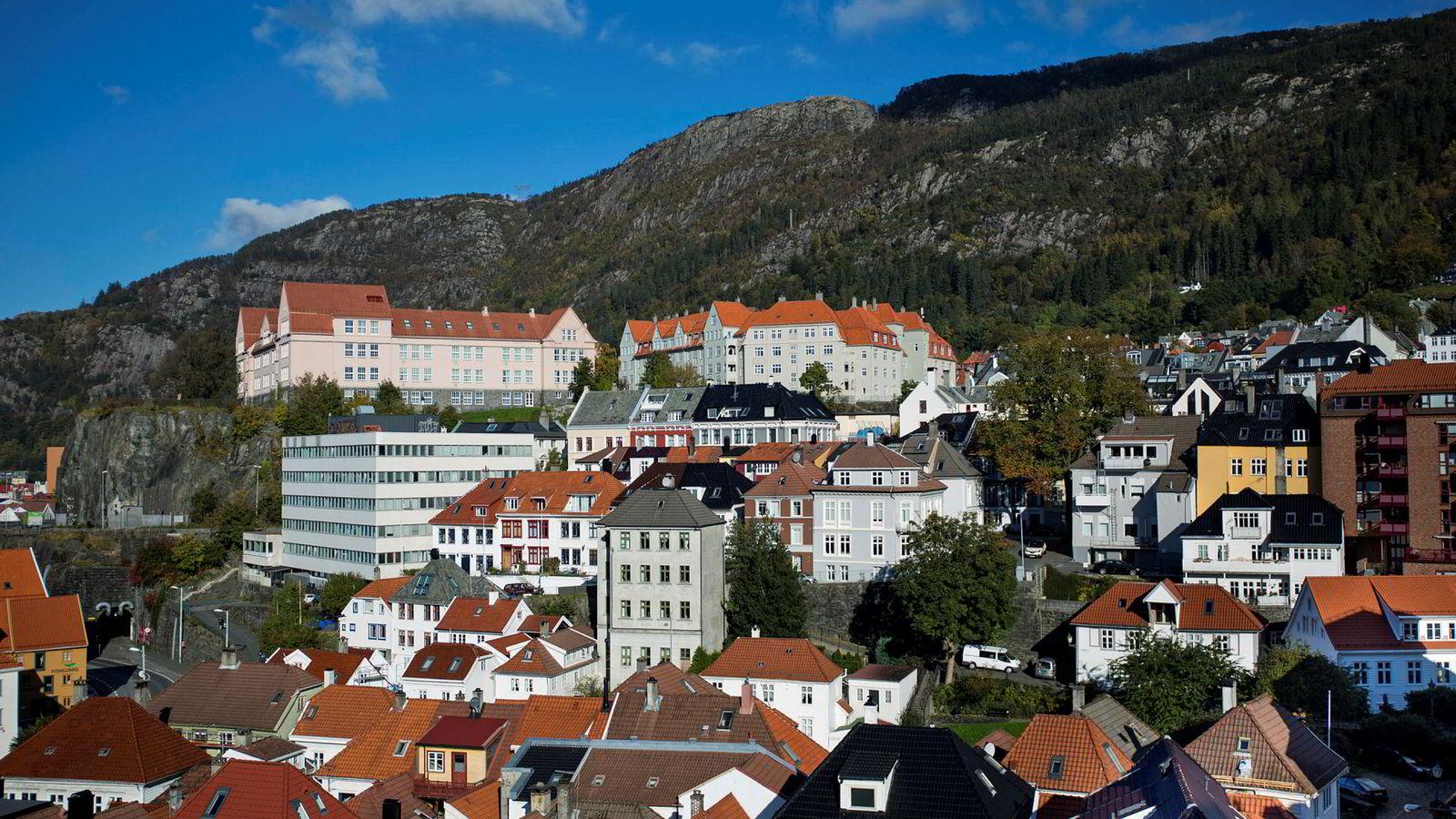 Boliger i Bergen.