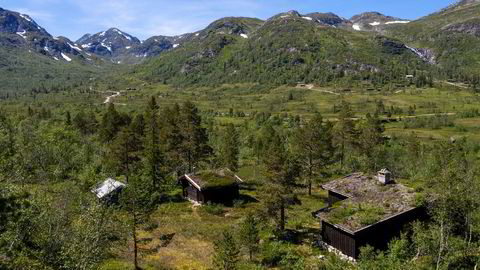«Nystøyl» er et av to hyttetun som inngår i fjelleiendommen brødrene Gunnar Frederik og Olav Hindahl Selvaag har gitt 11 millioner kroner for.