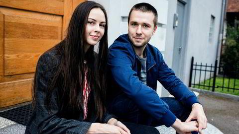 Igor Orlov og kona Anastacia Orlova er forberedt på at boliglånet blir dyrere å håndtere fremover.