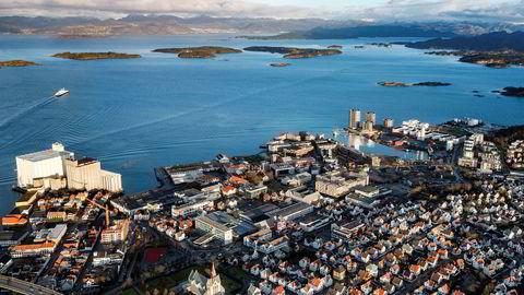 Det er mye ledige kontorlokaler i Stavanger.