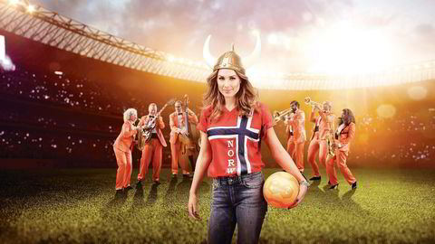 Pop-profilen Tone Damli er blant de norske ambassadørene for det utenlandske spillselskapet Betsson. Her fra en av deres reklamekampanjer. Illustrasjon: Betsson