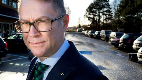 Pål Adrian Hellman, leder i Finansforbundet.