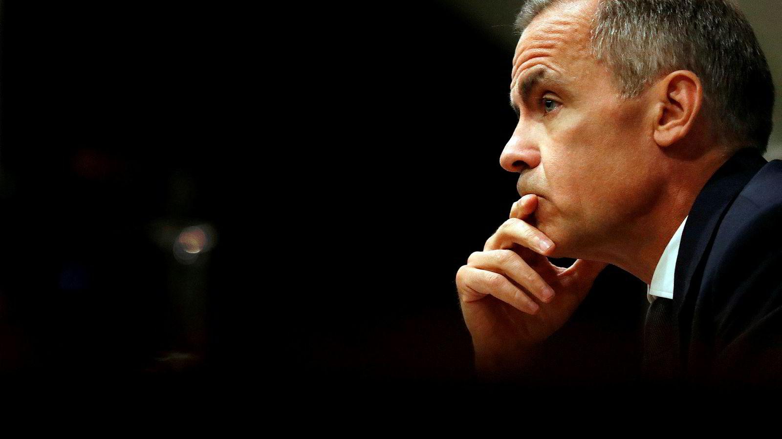 Sentralbanksjef Mark Carney i Bank of England gikk på klimatoppmøtet i FN inn for at selskaper skal pålegges klimarapportering.