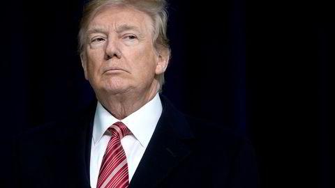 Donald Trumps formue har ifølge Forbes krympet med 3,1 milliarder kroner det siste året, og det har resultert i at han faller 222 plasser fra fjorårets 544. plass. Foto: SAUL LOEB/AFP/NTB scanpix