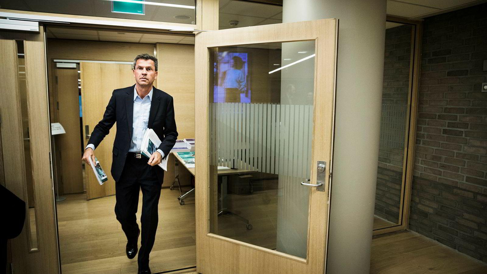 Toppsjef i DNBs megler- og investeringsbankvirksomhet, Ottar Ertzeid.