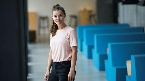 Charlotte B. Evensen (27) tar en doktorgrad i næringsøkonomi. Før hun startet sjekket hun ut om drømmejobbene krevde en doktorgrad – og fant fort ut at graden vil gi henne et fortrinn når hun skal søke jobb.