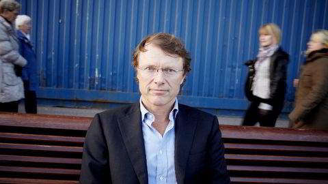 Sjefstrateg Peter Hermanrud i Swedbank bommet på Storebrand, men traff på Höegh LNG. Foto: Eivind H. Natvig