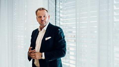 Gründer og administrerende direktør i Hitecvision Ole Ertvaag (55) tjente godt i fjor. Her er han på kontoret sitt i Jåttåvågen i Stavanger. Investeringsselskapet satser på nye milliardprosjekter innen olje- og oljeservice.
