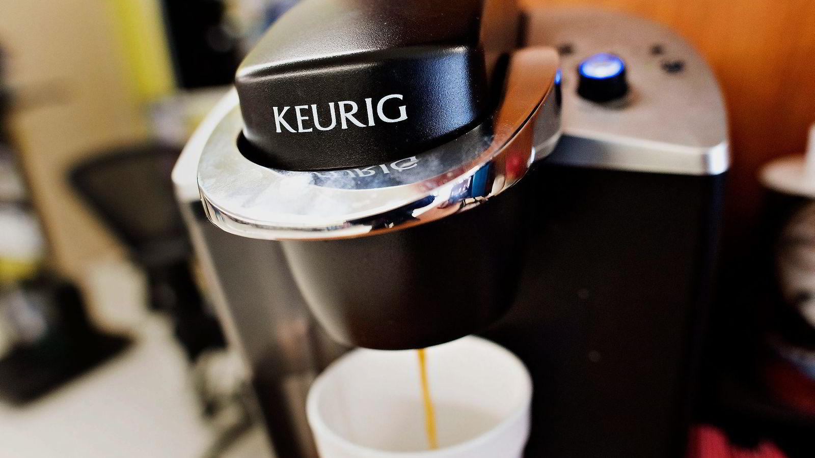 Bak oppkjøpet av Keurig Green Mountain står kaffegigantene Jacobs Douwe Egberts, DE Master Blenders 1753 og kaffevirksomheten i Mondelez. Foto: Daniel Acker,