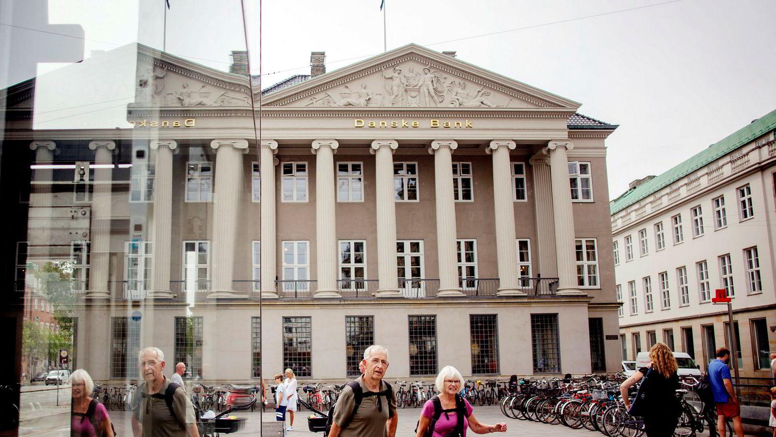 Danske Banks kontorer i København.