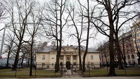 Hovedindeksen på Oslo Børs falt nær to prosent torsdag. Foto: