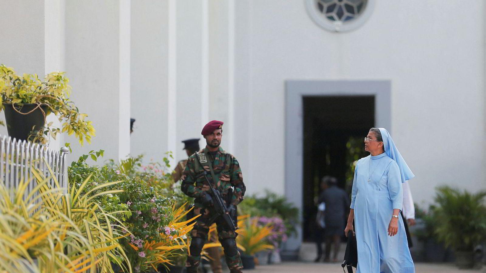 Over 250 mennesker mistet livet i terrorangrepet i Sri Lanka 1. påskedag.