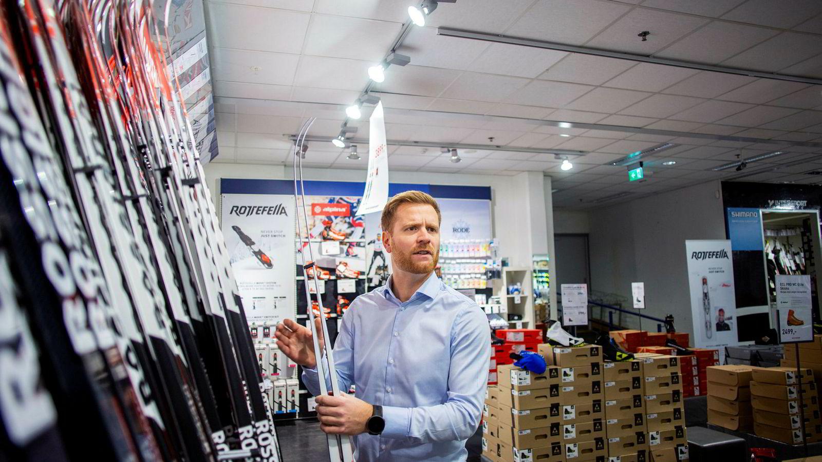 Lars Kristian Lindberg, administrerende direktør i Gresvig