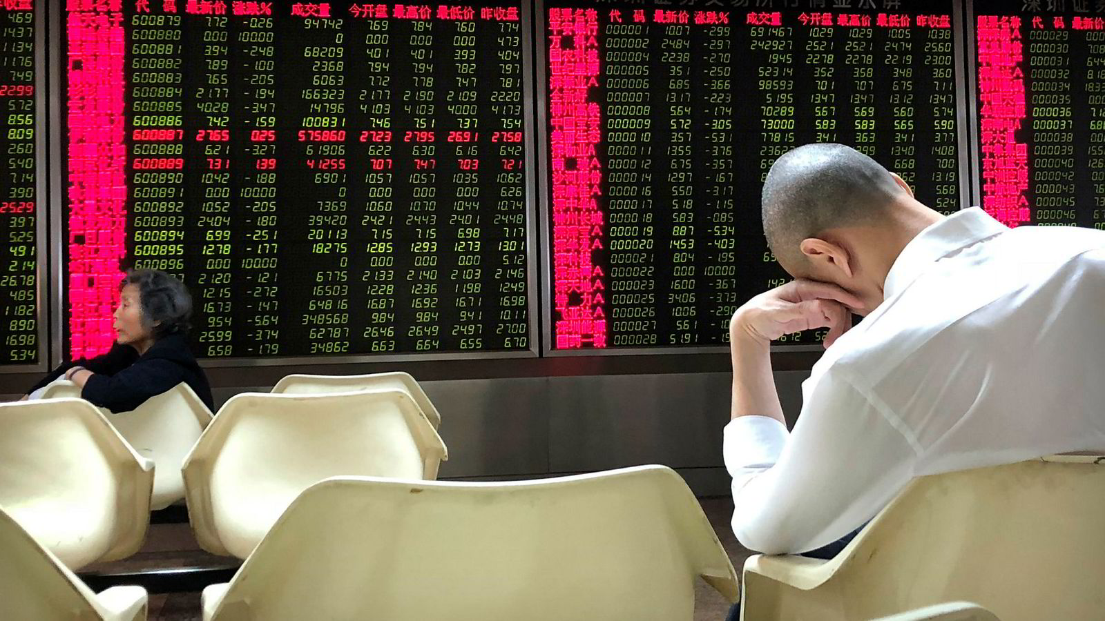 De asiatiske aksjemarkedene har falt i 2019. I 2019 skal det bli bedre, ifølge en undersøkelse foretatt mot internasjonale finansinstitusjoner .