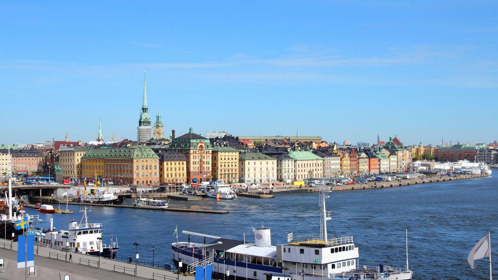 Boligprisene i de mest sentrale strøkene av Stockholm steg 16 prosent ifjor. Nå i mai kom en baksmell, med den største månedlige prisnedgangen siden finanskrisen. Foto: Istock
