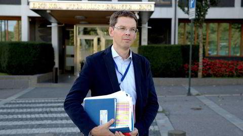 UDs kommunikasjonsdirektør Frode Overland Andersen bytter beite.