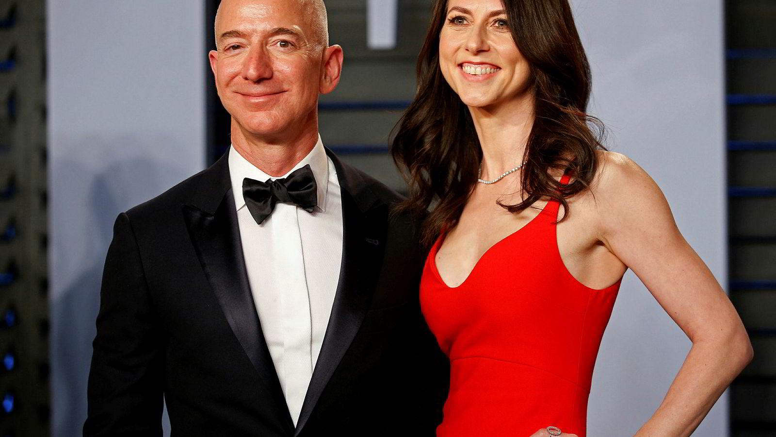 Amazon-sjef Jeff Bezos og MacKenzie Bezos var gift i 22 år.