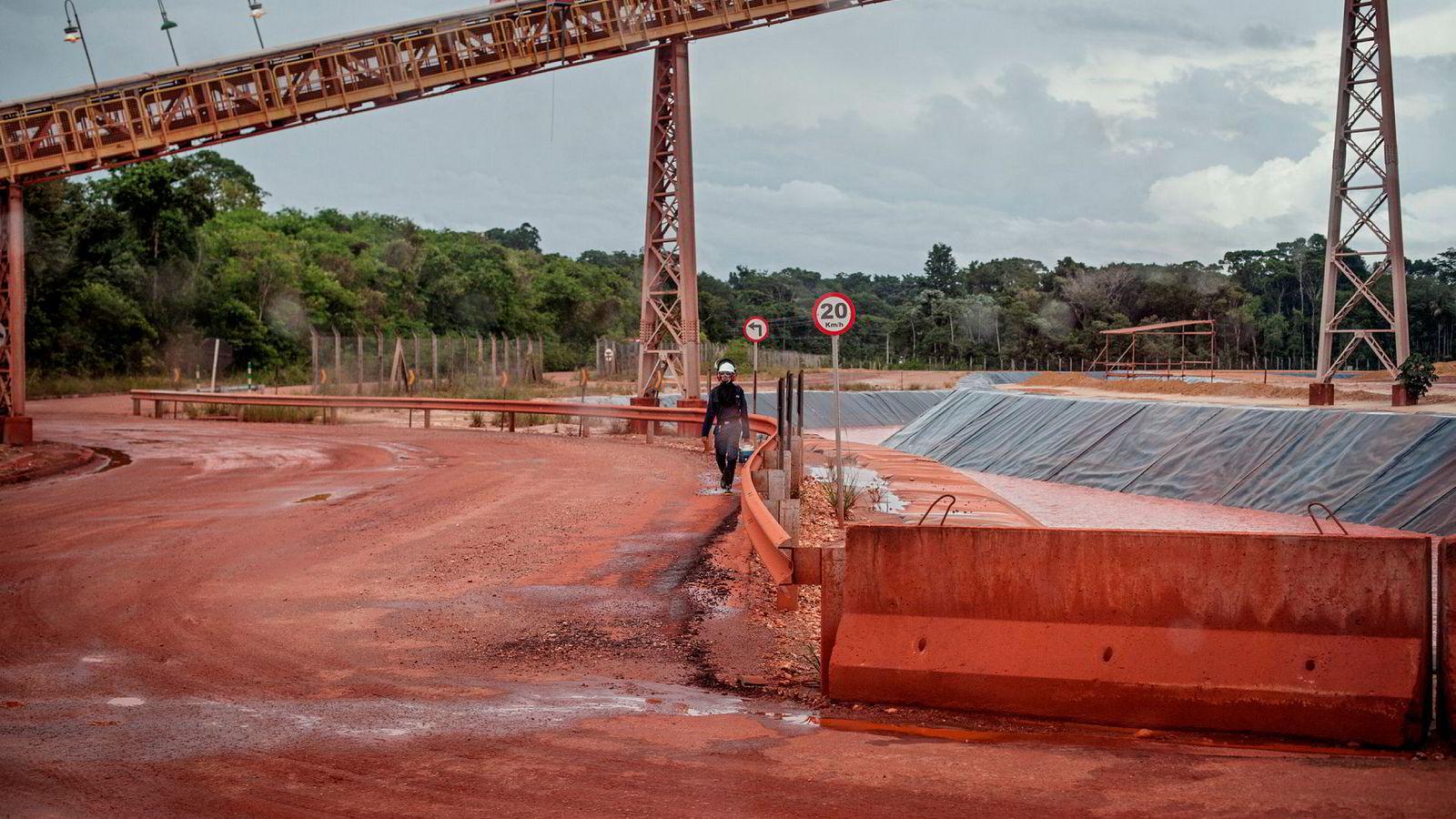 Hydro starter opp igjen aluminiumsraffineriet i Alunorte.