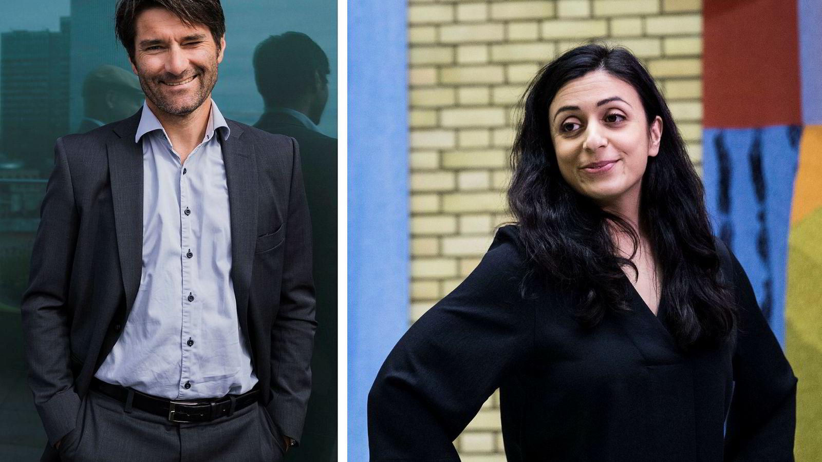 Tidligere DN-journalist Kristian Skard og Arbeidepartiets nestleder Hadia Tajik er blitt et par.