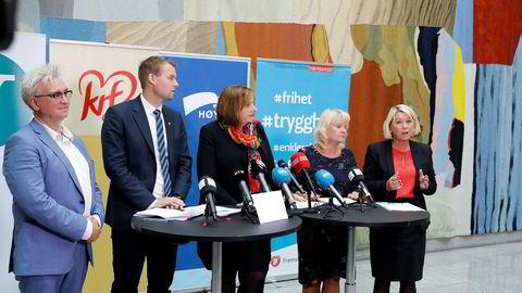 KrF og regjeringspartiene ble enige om oppgavene i regionreformen på Stortinget mandag.