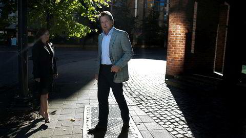 Oslo, 16.09.2010 : Tidligere finansdirektør Terje Rogne i Tandberg har gått på en ny smell i aksjemarkedet