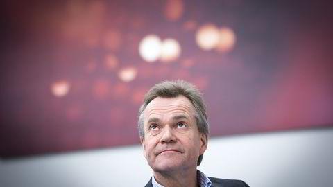 Finn Haugan mener konsekvensene av oljesmellen overdramatiseres, særlig med tanke på bankenes tapsutvikling. Foto: Ole Morten Melgård