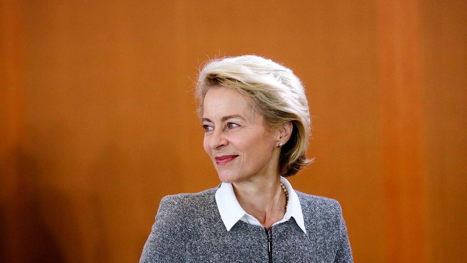 Ursula von der Leyen er nominert til EUs toppjobb.